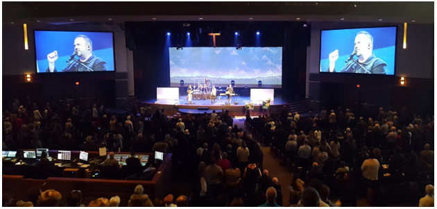 Z-HD5500 Cameras Enable 'Stunning' IMAG and Streaming Quality for Calgary's First Alliance Church