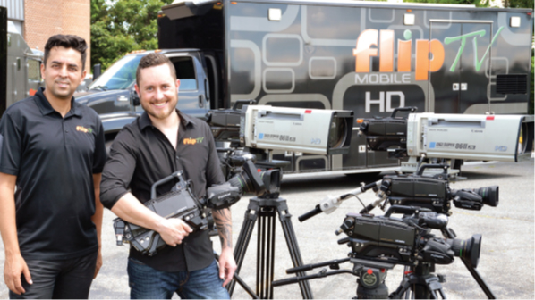 FlipTV Goes Mobile with Hitachi HD Cameras